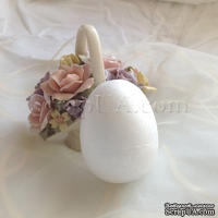 Заготовка для декорирования Яйцо, пенопласт, 8 см, 1 шт.