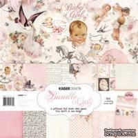 Набор бумаги от Kaisercraft - Bundle of Joy Girl Paper Pack, 30x30 см