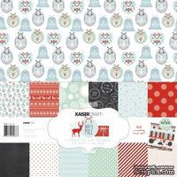 Набор скрапбумаги от Kaisercraft - North Pole Collection - Christmas, 30,5 х 30,5.