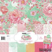 Набор бумаги от KaiserCraft - Cherry Blossom, 30х30 см