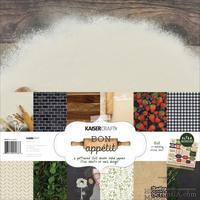 Набор двусторонней скрапбумаги от Kaisercraft - Bon Appetit, 30,5 x  30,5 см