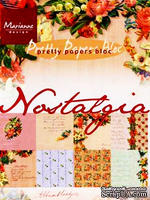 Набор бумаги Marianne Design - Marianne's Pretty Paper Bloc - Nostalgia, 14,8х21 см, 16 листов