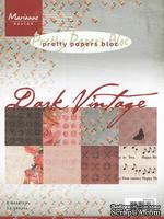 Набор бумаги Marianne Design - Marianne's Pretty Paper Bloc - Dark Vintage, 21х14 см, 16 листов