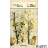 Набор объемных цветов Petaloo - FloralEphemera - Ivory
