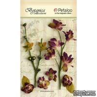 Набор объемных цветов Petaloo - FloralEphemera - Purple
