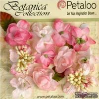 Набор объемных цветов Petaloo - Botanica Minis - Soft Pink