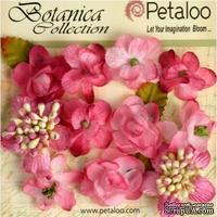 Набор объемных цветов Petaloo - Botanica Minis - Fuchsia
