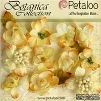 Набор объемных цветов Petaloo - Botanica Minis - Soft Yellow