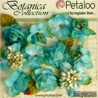 Набор объемных цветов Petaloo - Botanica Minis - Teal