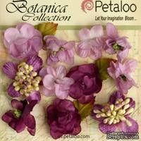 Набор объемных цветов Petaloo - Botanica Minis - Lavender