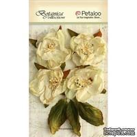 Набор объемных цветов Petaloo - Botanica Blooms x 4 - All Ivory
