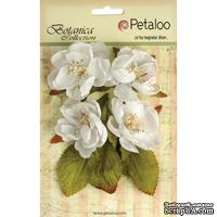 Набор объемных цветов Petaloo - Botanica Blooms x4 - White
