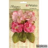 Набор объемных цветов Petaloo - Botanica Blooms x4 - Soft Pink