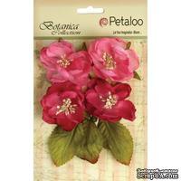 Набор объемных цветов Petaloo - Botanica Blooms x4 - Fuchsia