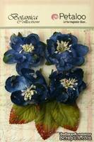 Набор объемных цветов Petaloo - Sugared Blooms - Royal Blue