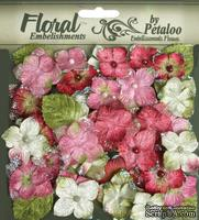 Набор цветов Petaloo - Velvet Hydrangeas Collection Rose, 40 шт.