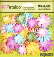 Набор цветов Petaloo- New Mini Mulb.Paper Delphiniums - Pastels