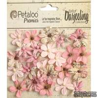 Набор цветов Petaloo - Printed Darjeeling Collection - Wild Mini Blossoms - Pink