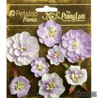 Набор объемных цветов Petaloo - Penny Lane Collection - Mixed Blossoms - Soft Lavender