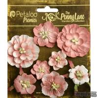Набор объемных цветов Petaloo - Penny Lane Collection - Mixed Blossoms - Antique Rose