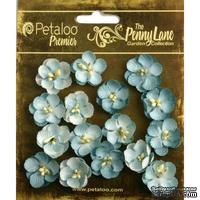 Набор цветов (незабудок) Petaloo - Penny Lane Collection - Forget me Nots - Robin Egg Blue