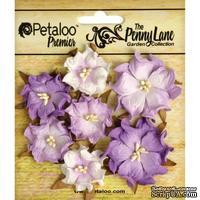 Набор объемных цветов (диких роз) Petaloo - Penny Lane Mini Wild Roses x7 - Soft Lavender