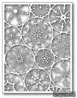 Ножи от Poppystamps  - DIES- Mod Snowflake Background