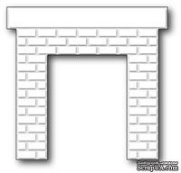 Нож для вырубки от Poppystamps - Classic Brick Fireplace