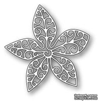 Нож для вырубки от Poppystamps - Small Luxe Poinsettia Outline