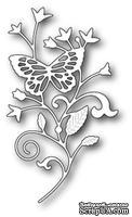 Нож для вырубки от Poppystamps - Elsa Butterfly Branch
