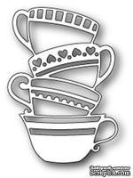 Нож для вырубки от Poppystamps - Teacup Stack