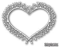 Нож для вырубки от Poppystamps - Woodland Heart Frame