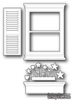 Нож для вырубки от Poppystamps - Small Madison Window Set