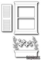 Нож для вырубки от Poppystamps - Large Madison Window Set