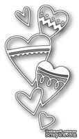 Нож для вырубки от Poppystamps - Heart Stack