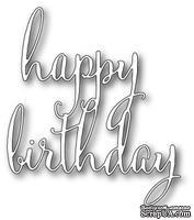 Нож для вырубки от Poppystamps - Fancy Happy Birthday