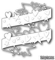 Нож для вырубки от Poppystamps - Hearts and Stars Wrap