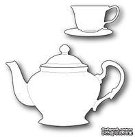 Нож для вырубки от Poppystamps - Ornate Tea Set