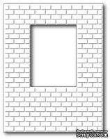 Нож для вырубки от Poppystamps - Brick Window Wall