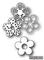 Нож для вырубки от Poppystamps - Flower Stack