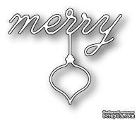 Нож для вырубки от Poppystamps - Merry Ornament