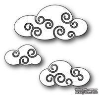 Нож для вырубки от Poppystamps - Twirly Clouds
