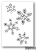Нож для вырубки от Poppystamps - Stitched Snowflake Cutouts