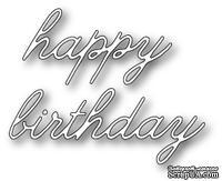 Нож для вырубки от Poppystamps - Decor Happy Birthday