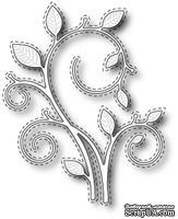 Нож для вырубки от Poppystamps - Stitched Swirl Stem