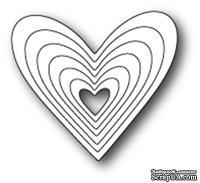 Ножи от Poppystamps - Heart Frames craft die