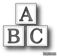 Ножи от Poppystamps - ABC Blocks craft die