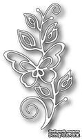 Нож для вырубки от Poppystamps - Bellina Butterfly Stem