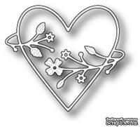 Нож для вырубки от Poppystamps - Francesca Heart