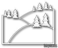 Нож для вырубки от Poppystamps - Evergreen Hillside